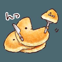 パンケーキさんの日常会話