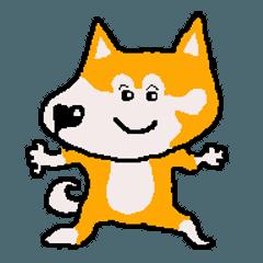 日本 柴犬 マスコット