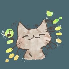 キジトラ猫の日常生活。