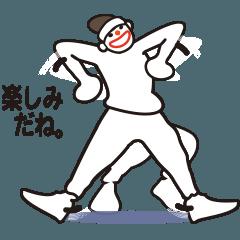 ヒップホップダンスのスタンプ(日本2)