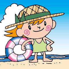 夏!ムギワラちゃん