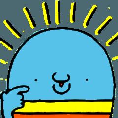 [LINEスタンプ] いるかばんばんだむ (1)