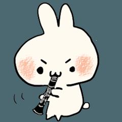 うさぎのみみ美 吹奏楽部 木管Ver