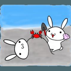 適当ちゃらい兎のウサ吉の日常生活5 夏ver
