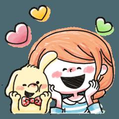 HAPPY★ママスタンプ・手書き風(日常編)