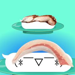 動く☆踊る☆回転寿司☆