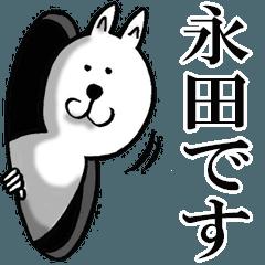 [LINEスタンプ] 永田さんが使うスタンプ