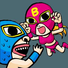 爆笑レスラー:ジョニー & バービー