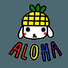 パイナップル犬 with ALOHA