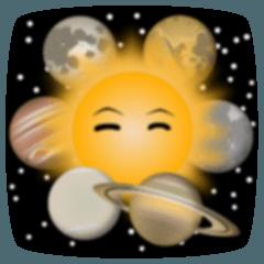 太陽と惑星