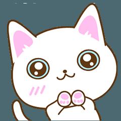 猫のスタンプ 日常的なポーズ