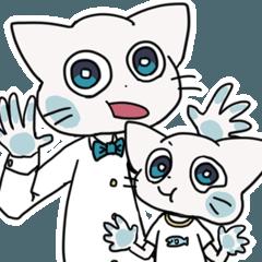 [LINEスタンプ] ネコすけスタンプの画像(メイン)