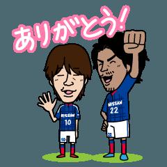 横浜F・マリノス 選手スタンプ2016 Ver.