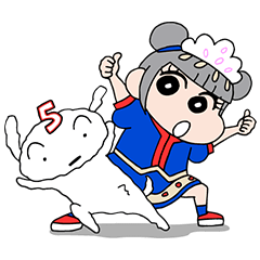 きゃりーぱみゅぱみゅ×クレヨンしんちゃん