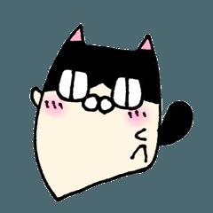 ②ハチワレ猫の日常会話