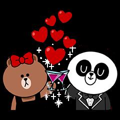 チョコ&パンヨのラブラブデート