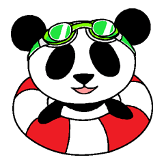 パンダの夏