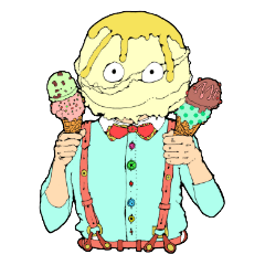 お菓子なスタンプ