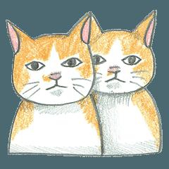 ヒグチユウコ 猫のボリス・スタンプ その2