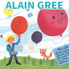 アラン グレ5 ALAIN GREE フランス絵本作家