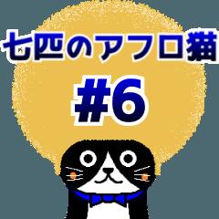 七匹のアフロ猫#6 ~元気溌剌にゃんこ~
