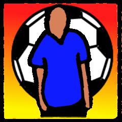 [LINEスタンプ] Soccer Player(Spanish)