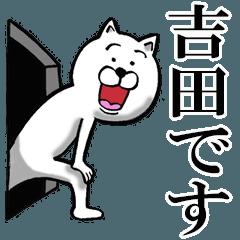 [LINEスタンプ] 丁寧な吉田さんが使うスタンプ