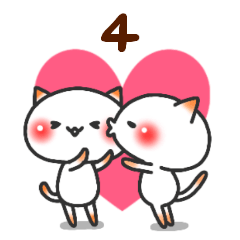 [LINEスタンプ] 君が好き(4) (1)
