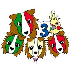 イタリア語かいわんこ 3
