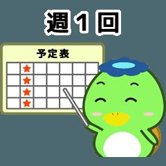 キノカッパ4 ジムあいさつ編