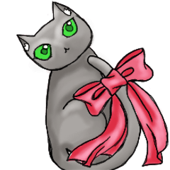 Bow-knot Cat