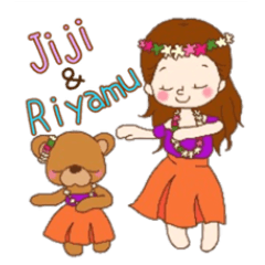JijiとRiyamu フラver.