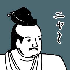 戦国武将風スタンプ