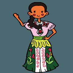 カナディちゃん、メキシコ・キューバの旅