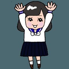 熊本県立第一高校 卒業30周年記念スタンプ!