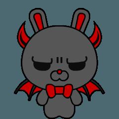[LINEスタンプ] デビル☆バニー