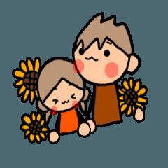 ブラウンくんとオレンジちゃん 8