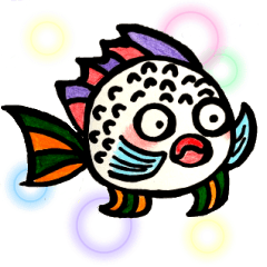 [LINEスタンプ] Fish and Friends -3-