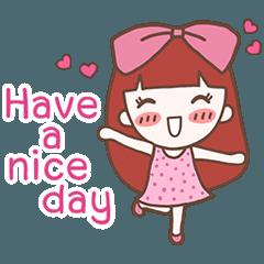 CHOMPOO : Positive Thinking Girl