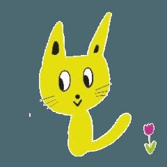 黄色い猫は阿波弁と関西弁を話す