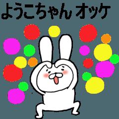 全国のようこちゃん全員集合!