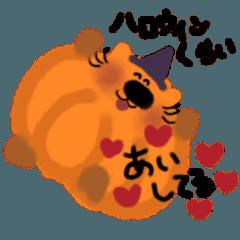 かぼちゃネコ【ハロウィン】
