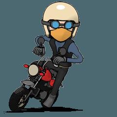 小さいオートバイ